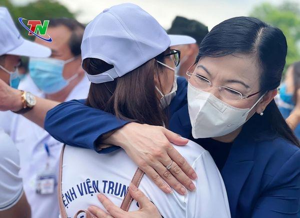 Thái Nguyên: 79 cán bộ y tế chi viện cho Thành phố Hồ Chí Minh