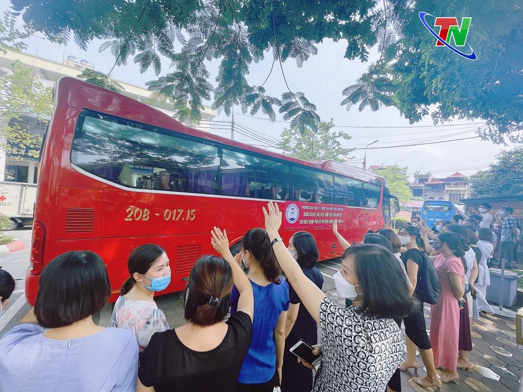 Thái Nguyên tiếp tục chi viện y tế cho Thành phố Hồ Chí Minh