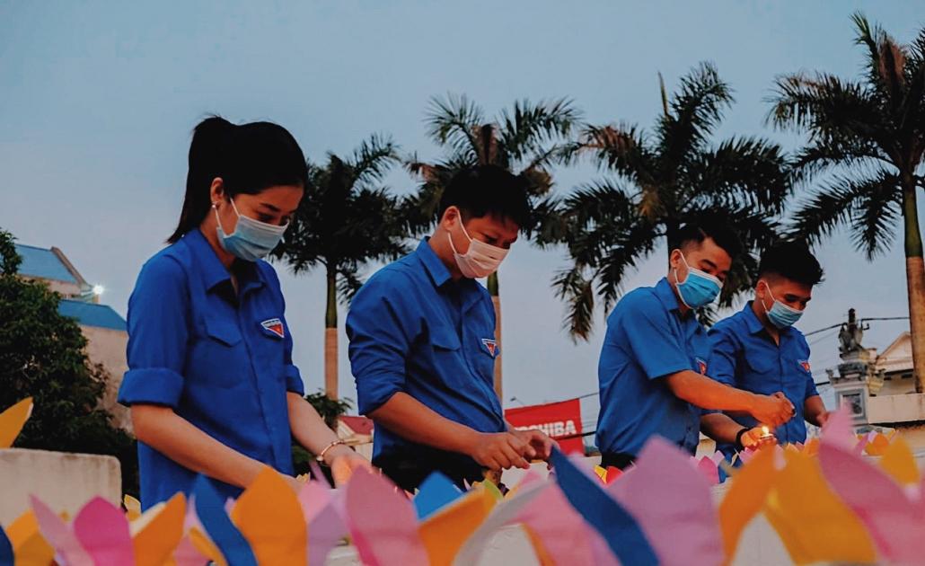 Tuổi trẻ Thái Nguyên với công tác đền ơn đáp nghĩa