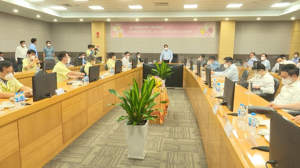 Thủ tướng Chính phủ Phạm Minh Chính thăm và làm việc tại Thái Nguyên