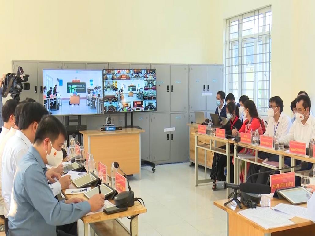 Thủ tướng Chính phủ Phạm Minh Chính thăm và làm việc trực tuyến với các đơn vị tại Thái Nguyên