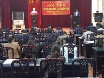 Đảng ủy khối các cơ quan tỉnh: Triển khai kế hoạch công tác tuyên giáo năm 2017