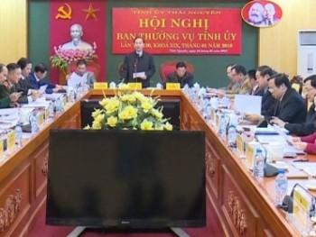Hội nghị Ban Thường vụ Tỉnh ủy lần thứ 30, khóa XIX