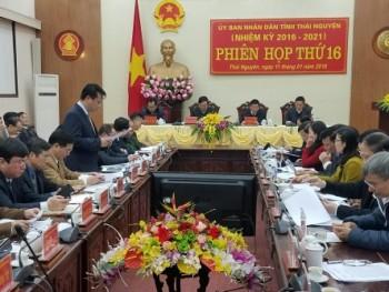 ubnd tinh thai nguyen hop phien toan the lan thu 16
