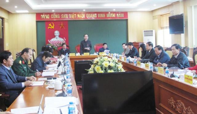 Hội nghị Ban Thường vụ Tỉnh ủy lần thứ 42, khóa XIX, nhiệm kỳ 2012 - 2020 hoàn thành nhiệm vụ đề ra