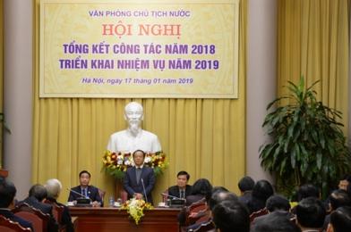 van phong chu tich nuoc phai dam bao dung vai thuoc bai