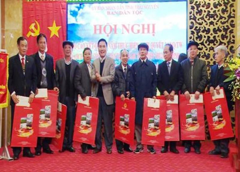 ban dan toc tinh thai nguyen trien khai nhiem vu nam 2019