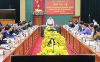 dong gop y kien vao du thao bao cao chinh tri dai hoi dai bieu dang bo tinh lan thu xx
