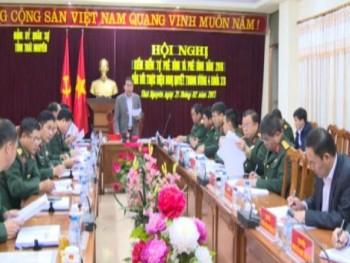 Đảng ủy Quân sự tỉnh:Kiểm điểm tự phê bình và phê bình gắn với thực hiện Nghị quyết Trung ương 4 (khóa XII)