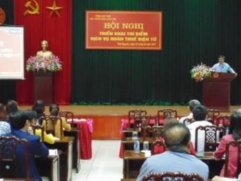 Hội nghị tập huấn triển khai thí điểm dịch vụ hoàn thuế điện tử