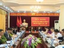 hoi nghi ban thuong vu thanh uy thai nguyen lan thu 29 nhiem ky 2015 2020