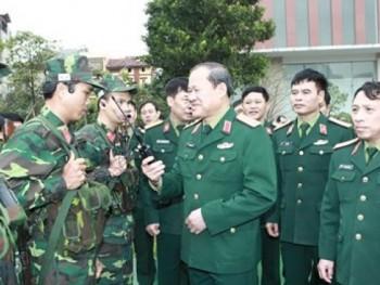 Bảo đảm tốt công tác kỹ thuật và an toàn thông tin liên lạc quân sự