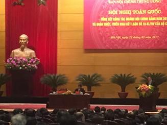 Tăng cường sự lãnh đạo của Đảng đối với công tác nội chính