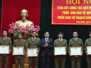 Phú Bình: Tổng kết Phong trào Toàn dân bảo vệ an ninh Tổ quốc năm 2016