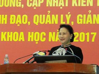 Giảng viên Học viện Chính trị có thể được dự khán kỳ họp Quốc hội