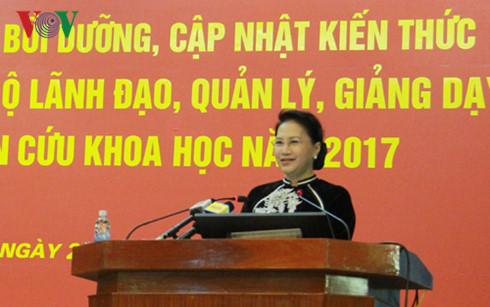 giang vien hoc vien chinh tri co the duoc du khan ky hop quoc hoi