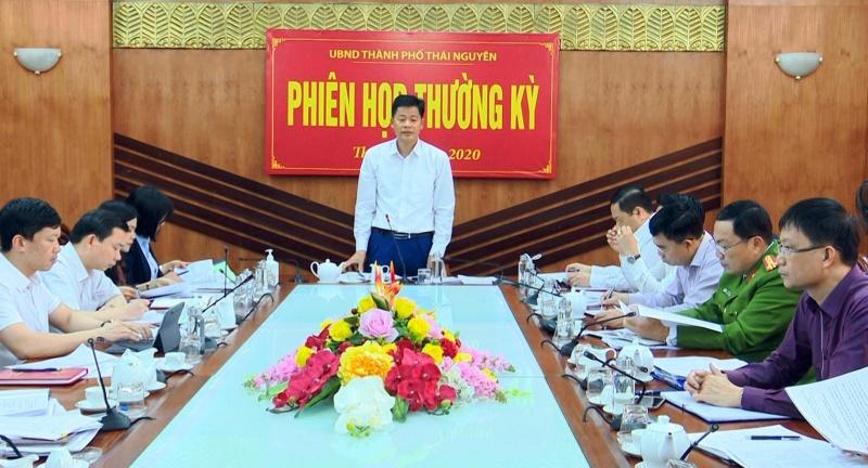 ubnd thanh pho thai nguyen trien khai ke hoach cong tac thang 32020