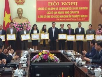 UBND tỉnh Thái Nguyên tổng kết công tác cải cách hành chính năm 2016
