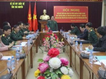 Triển khai các hoạt động tuyên truyền kỷ niệm 70 năm Ngày truyền thống lực lượng Vũ trang tỉnh Thái Nguyên