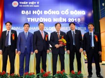 dai hoi co dong cong ty co phan thep viet y