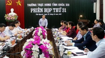 phien hop thu 31 thuong truc hdnd tinh thai nguyen khoa xiii