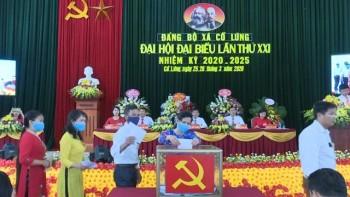 dai hoi dai bieu dang bo xa co lung huyen phu luong lan thu xxi nhiem ky 2020 2025
