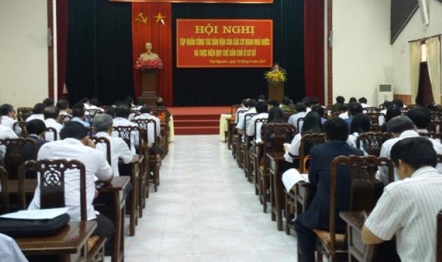 Tập huấn công tác dân vận của các cơ quan Nhà nước