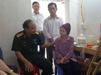 Bàn giao nhà sửa chữa cho gia đình chiến sĩ đang công tác tại Trường Sa