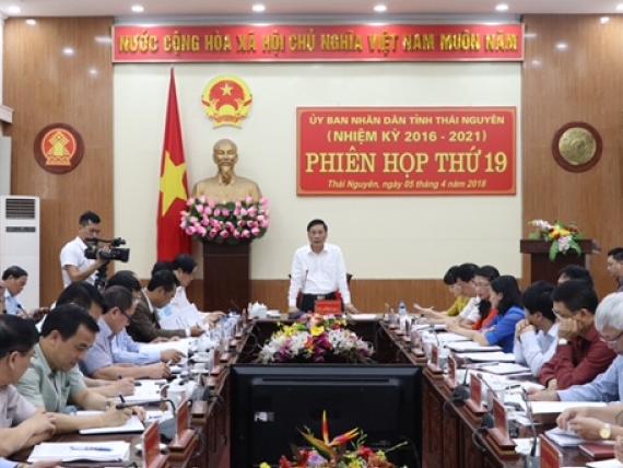 Tỉnh Thái nguyên quyết tâm tổ chức tốt Hội nghị xúc tiến đầu tư tỉnh Thái Nguyên năm 2018