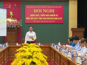 trien khai nhiem vu dien tap khu vuc phong thu tinh thai nguyen nam 2018