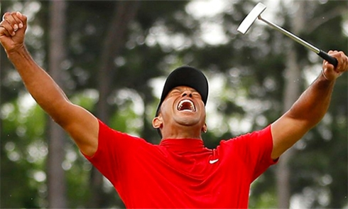 tiger woods vo dich masters 2019