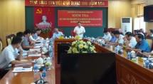 doan kiem tra cua ban chi dao trung uong lam viec tai tinh thai nguyen