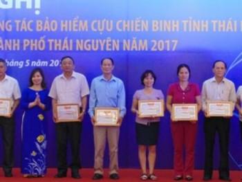 Triển khai công tác bảo hiểm Cựu chiến binh và hưu trí Thành phố Thái Nguyên 2017 - 2018