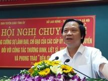 tang cuong su lanh dao chi dao doi voi cong tac thuong binh liet si