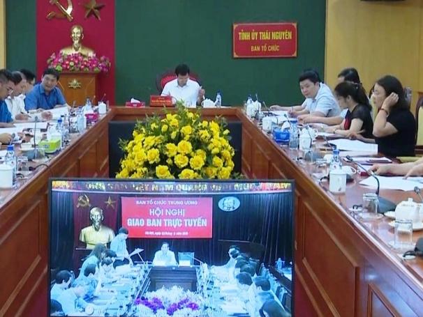 Hội nghị giao ban trực tuyến công tác tổ chức xây dựng Đảng tháng 5/2018