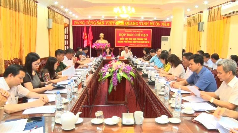 hop ban chi dao dien tap phong thu thanh pho thai nguyen nam 2018