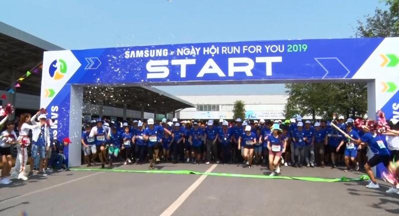 ngay hoi samsung run for you 2019