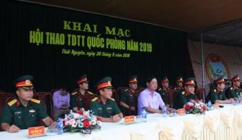 khai mac hoi thao the duc the thao quoc phong tinh thai nguyen nam 2019