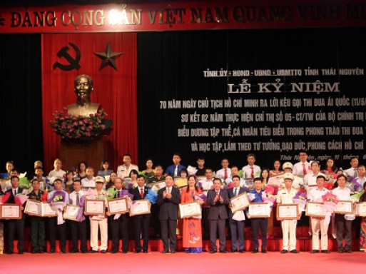Tiếp tục đẩy mạnh phong trào thi đua yêu nước, đưa Thái Nguyên phát triển nhanh, bền vững