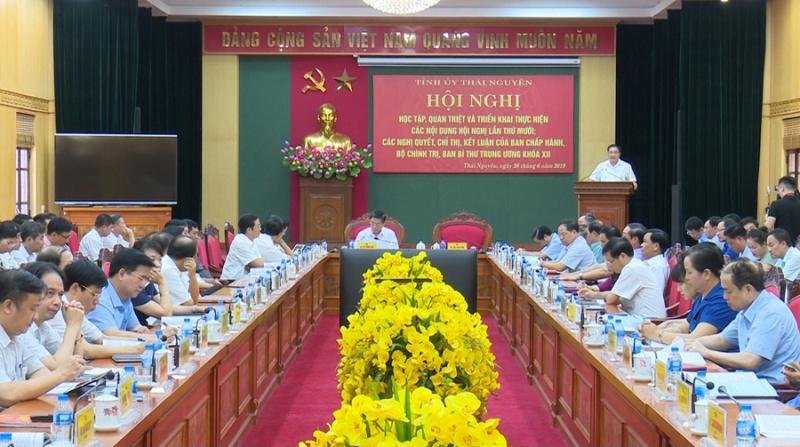 Quán triệt và triển khai thực hiện các nội dung Hội nghị lần thứ 10, BCH TƯ Đảng khóa XII