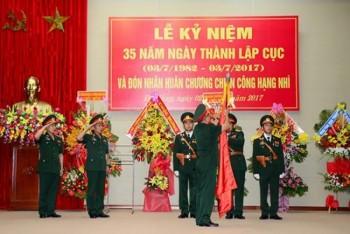 cuc 11 tong cuc ii bo quoc phong don nhan huan chuong chien cong hang nhi