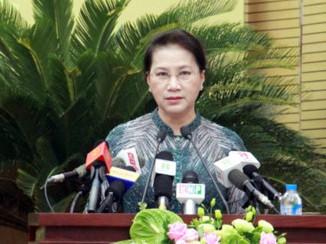 Chủ tịch QH: TP Hà Nội cần chủ động, sáng tạo trong hoạt động giám sát