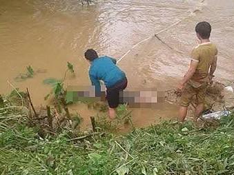 4 người tử vong  trong vụ ô tô bị lũ cuốn trôi tại Định Hoá