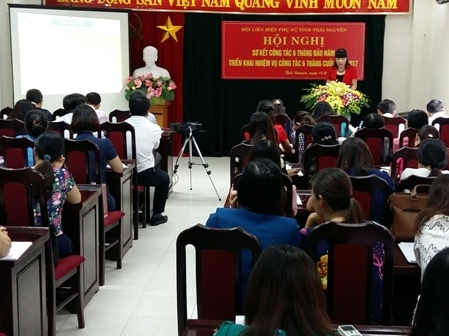 Hội phụ nữ tỉnh tiếp tục nâng cao chất lượng hoạt động hội