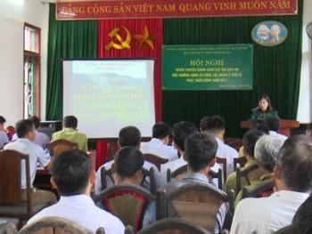 Hội nghị tuyên truyền chính sách chi trả dịch vụ môi trường rừng