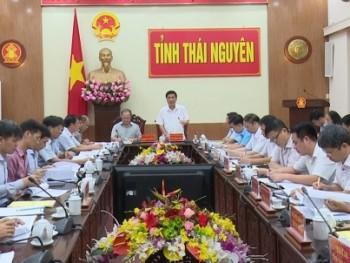 doan cong tac cua bo nong nghiep va phat trien nong thon lam viec tai thai nguyen