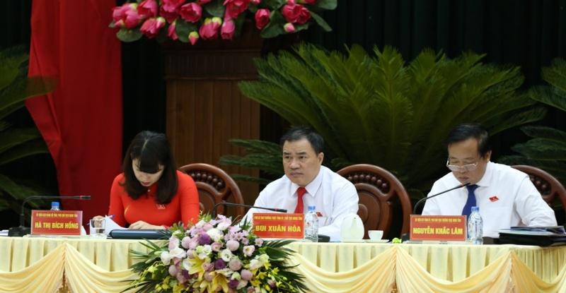 Ngày làm việc thứ nhất, Kỳ họp thứ 7, HĐND tỉnh khóa XIII, nhiệm kỳ 2016-2021