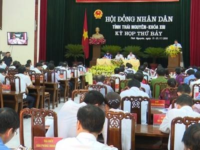 Ngày làm việc thứ 3, Kỳ họp thứ 7, HĐND tỉnh Thái Nguyên khóa XIII: Phiên giải trình, chất vấn và trả lời chất vấn
