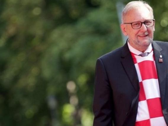 mung ky tich world cup 2018 bo truong croatia mac ao dtqg di hop