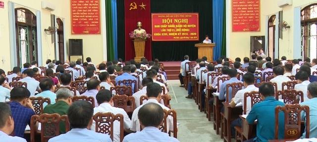 hoi nghi ban chap hanh dang bo huyen phu binh lan thu 21 nhiem ky 2015 2020